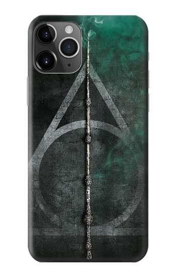 Printed Harry Potter Magic Wand iPhone 11 Pro Case
