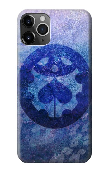 Printed Jojos Bizarre Adventure Giorno Symbol iPhone 11 Pro Case