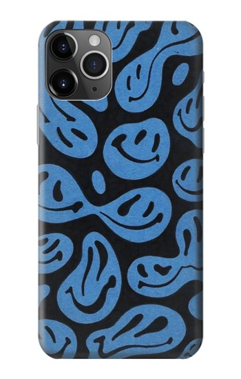 Printed Cute Ghost Pattern iPhone 11 Pro Case