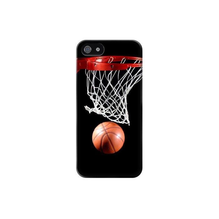 Printed Basketball Iphone 5C Case