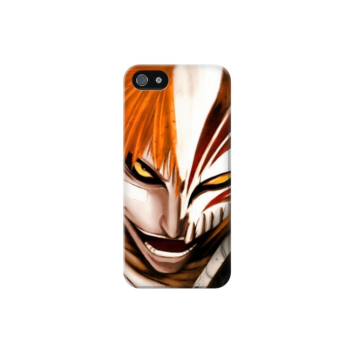 Printed Bleach Ichigo Iphone 5C Case