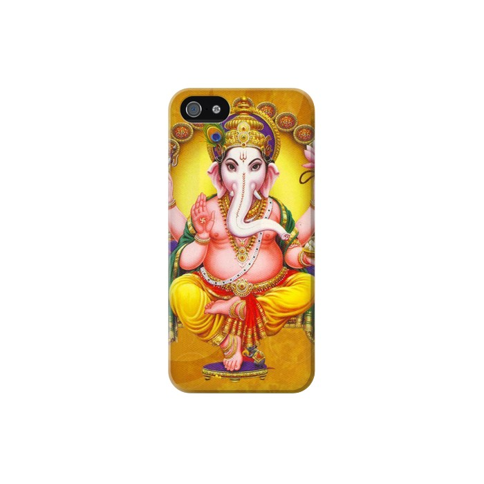 Printed Lord Ganesh Hindu God Iphone 5C Case