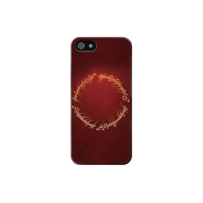 Printed Lord of the Ring Iphone 5C Case
