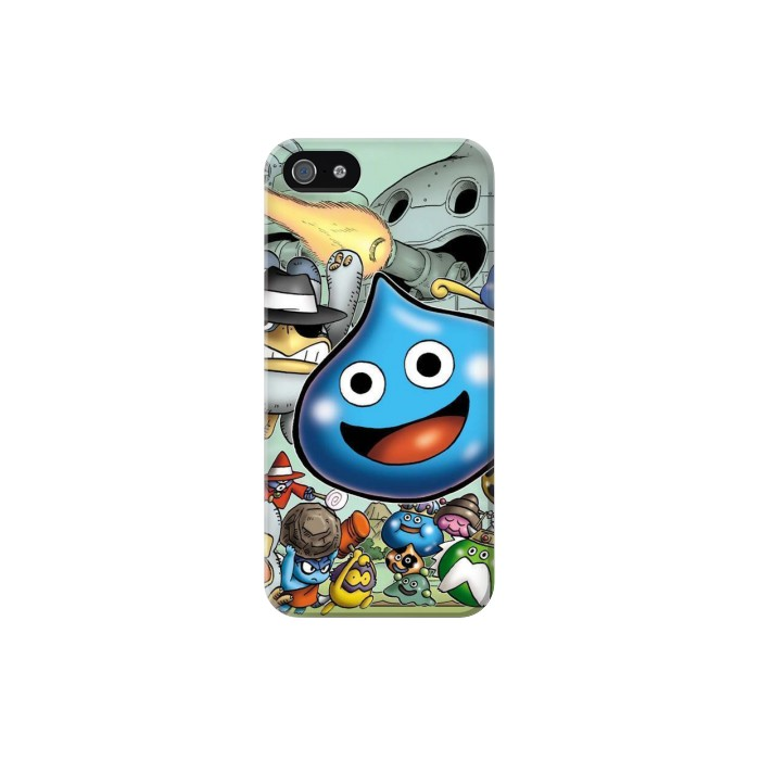 Printed Dragon Quest Slime Monster Iphone 5C Case