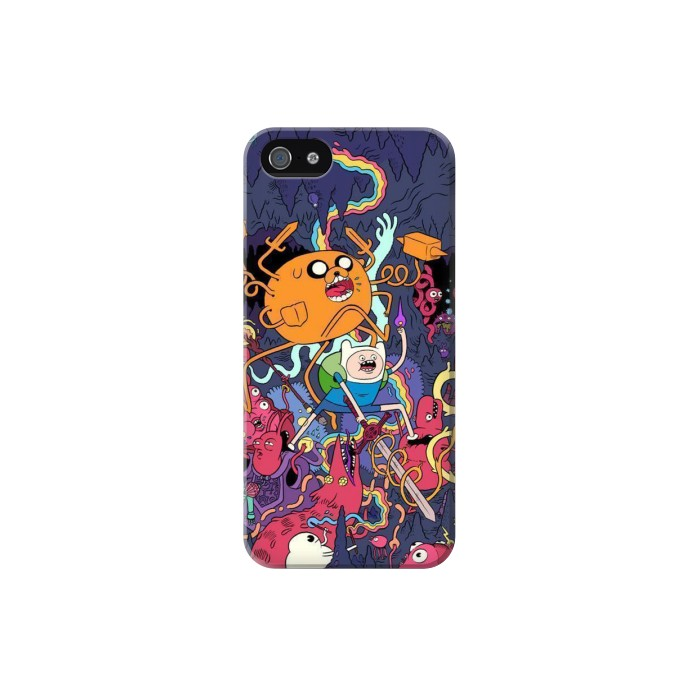 Printed Adventure Time Iphone 5C Case