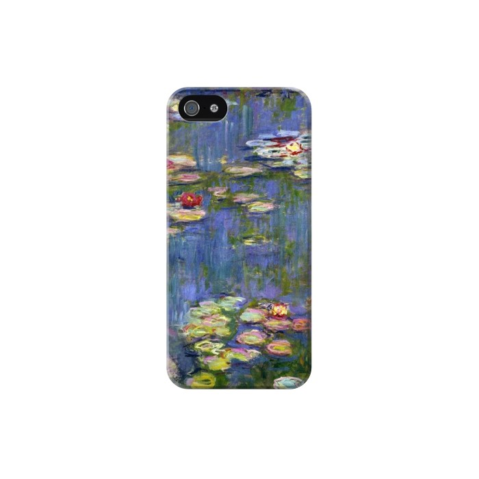 Printed Claude Monet Water Lilies Iphone 5C Case