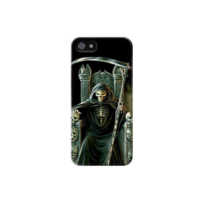 Printed Grim Reaper Skeleton King Iphone 5C Case
