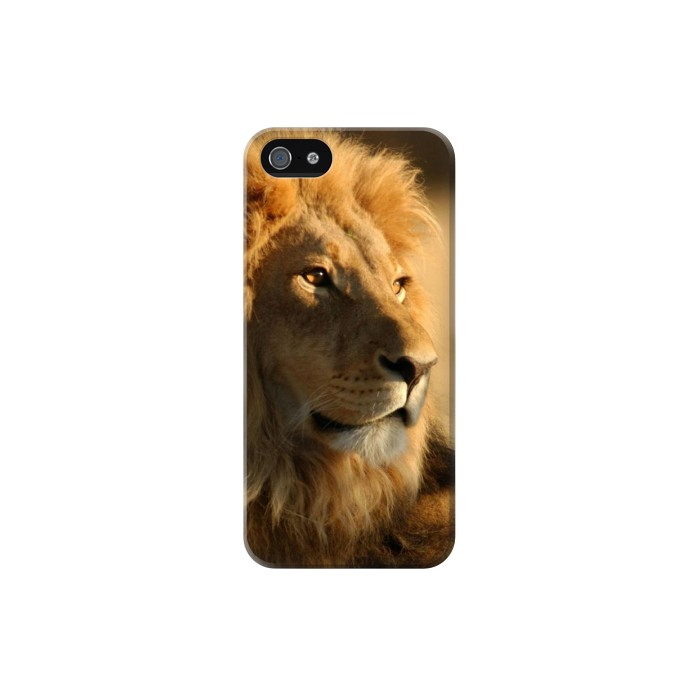 Printed Lion King of Forest Iphone 5C Case