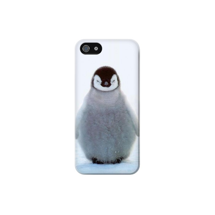 Printed Penguin Ice Iphone 5C Case