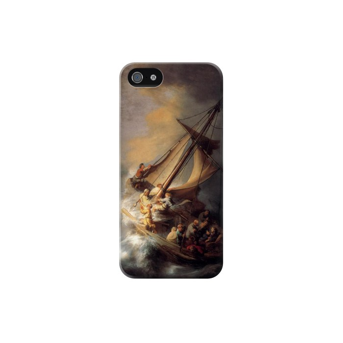Printed Rembrandt Christ in The Storm Iphone 5C Case
