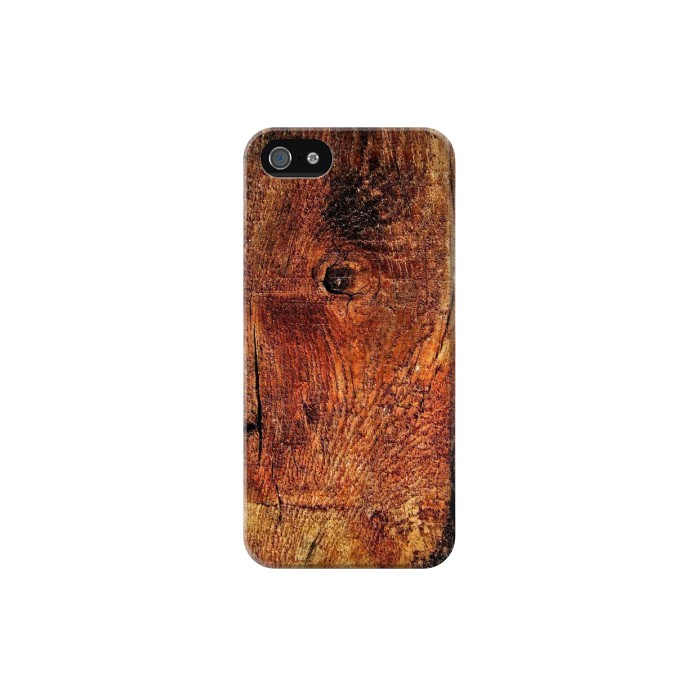 Printed Wood Skin Graphic Iphone 5C Case