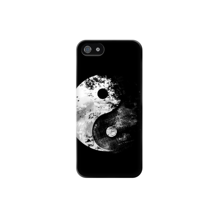 Printed Moon Yin-Yang Iphone 5C Case