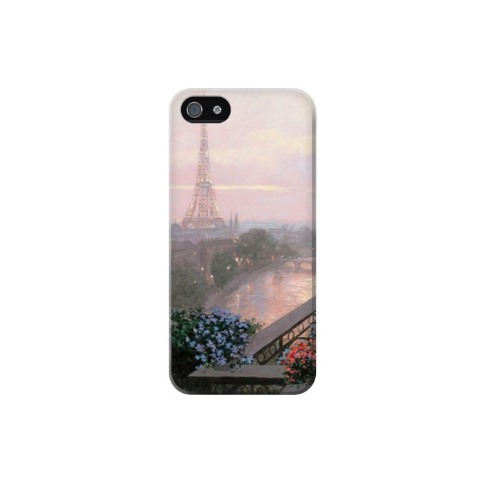 Printed Terrace in Paris Eifel Iphone 5C Case