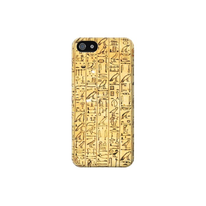 Printed Egyptian Coffin Texts Iphone 5C Case