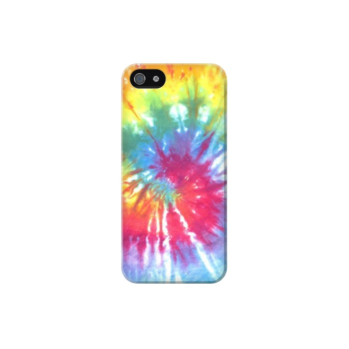 Printed Tie Dye Colorful Graphic Printed Iphone 5C Case