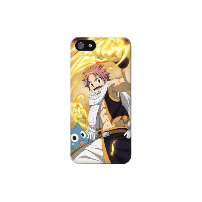 Printed Fairy Tail Natsu Happy Iphone 5C Case