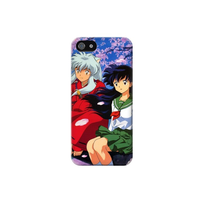 Printed Inuyasha Kagome Iphone 5C Case