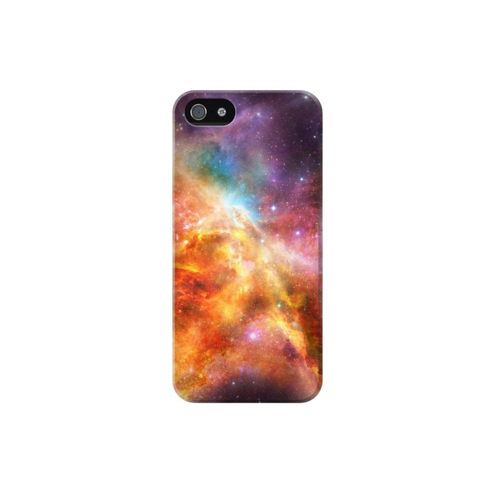 Printed Nebula Rainbow Space Iphone 5C Case