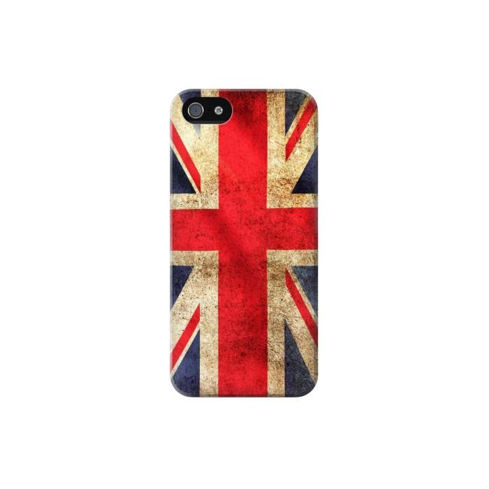 Printed British UK Vintage Flag Iphone 5C Case