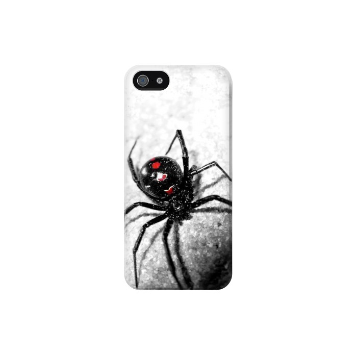 Printed Black Widow Spider Iphone 5C Case