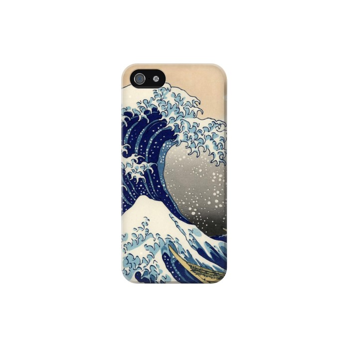 Printed Katsushika Hokusai The Great Wave off Kanagawa Iphone 5C Case