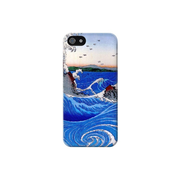 Printed Awa Province Naruto Whirlpools Ando Hiroshige Iphone 5C Case