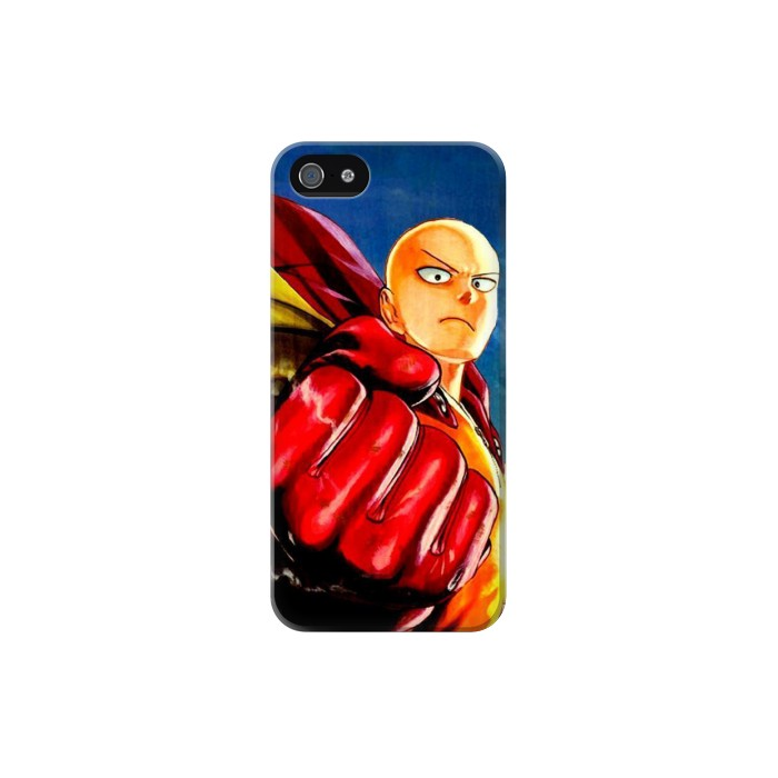 Printed Saitama One Punch Man Iphone 5C Case