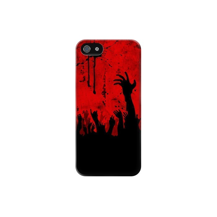 Printed Zombie Hands Iphone 5C Case
