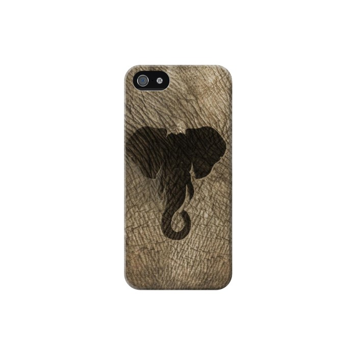 Printed Elephant Skin Iphone 5C Case