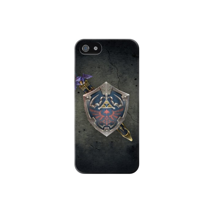 Printed Legend of Zelda Shield Iphone 5C Case