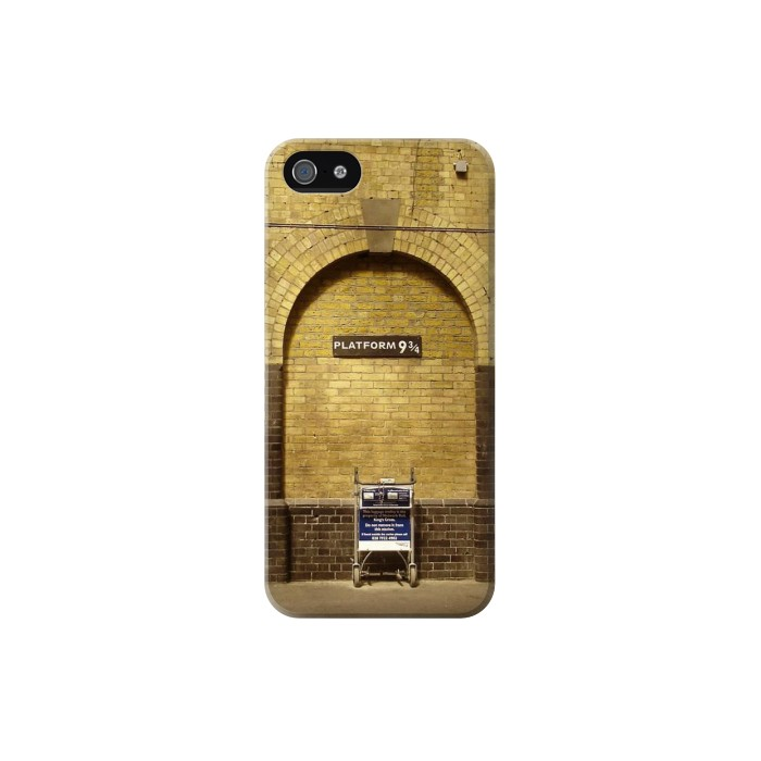 Printed Platform 934 London Railway Station Iphone 5C Case