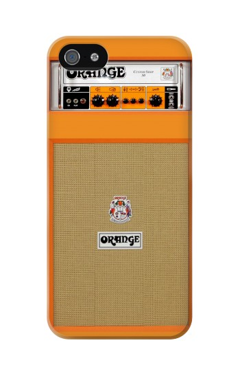 Printed Orange Amplifier Iphone 5C Case