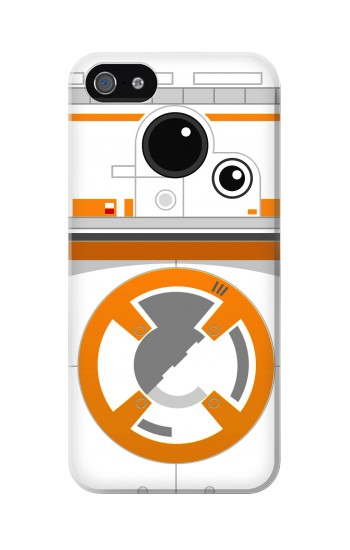 Printed BB-8 Droid Robot Minimalist Iphone 5C Case