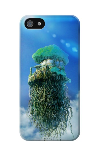 Printed Castle in the Sky Iphone 5C Case