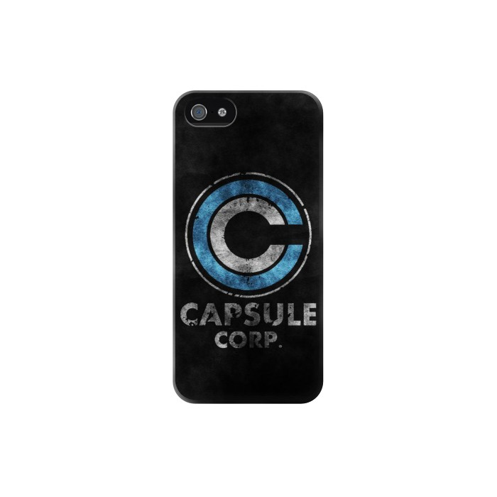 Printed Dragonball Capsule Corp Symbol Iphone 5C Case