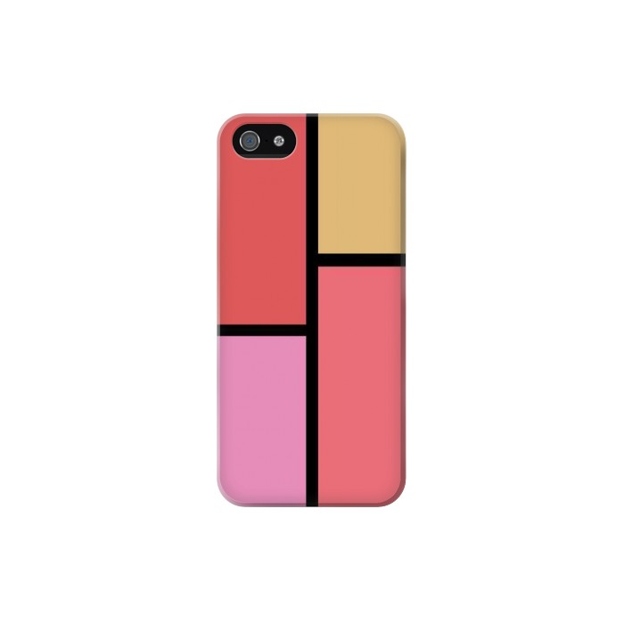 Printed Cheek Palette Color Iphone 5C Case