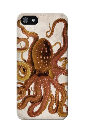 Printed Vintage Octopus Iphone 5C Case