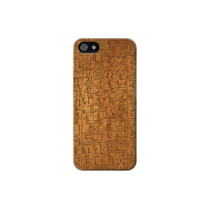 Printed Egyptian Hierogylphics Papyrus of Ani Iphone 5C Case
