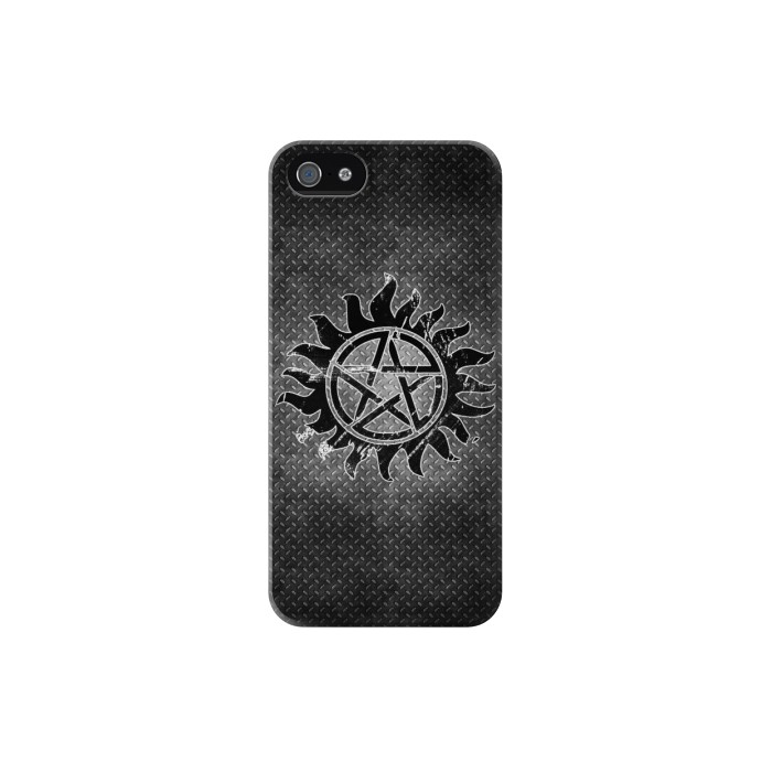 Printed Supernatural Antidemonpos Symbol Iphone 5C Case