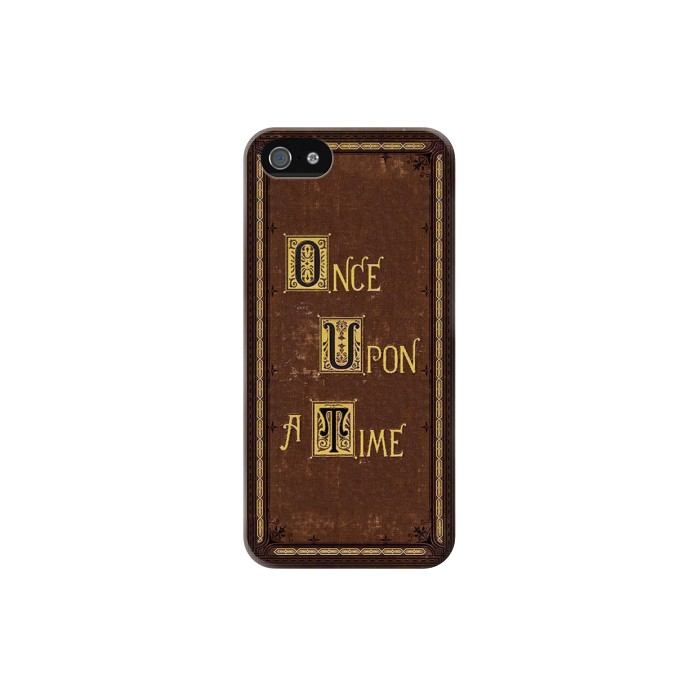Printed Once Upon a Time Book Cover Iphone 5C Case