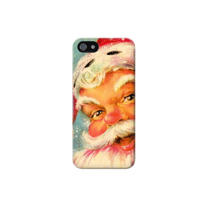 Printed Christmas Vintage Santa Iphone 5C Case