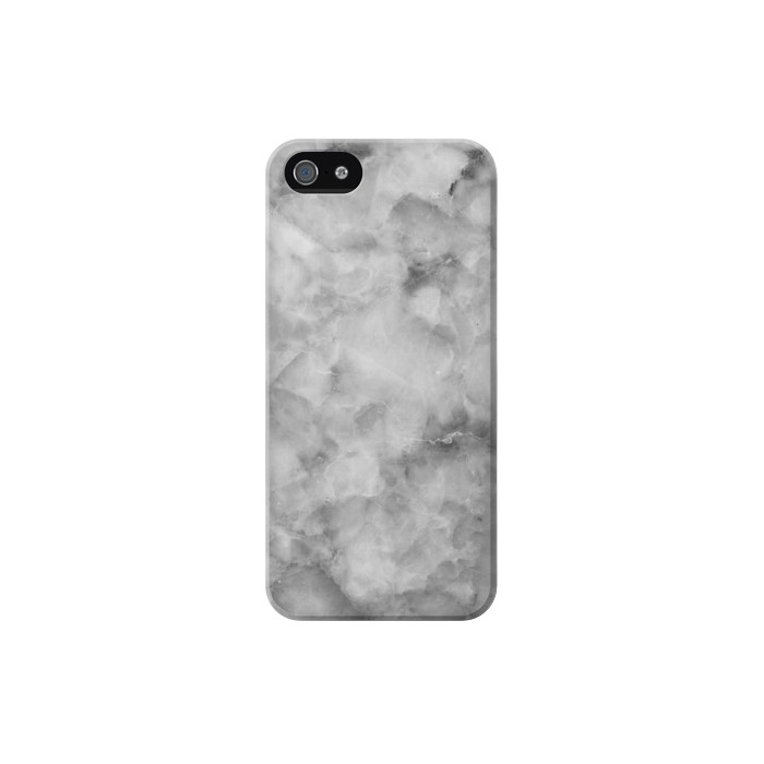 Printed Gray Marble Texture Iphone 5C Case