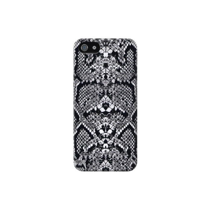 Printed White Rattle Snake Skin Iphone 5C Case