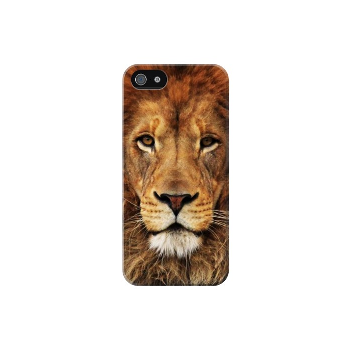 Printed Lion King of Beasts Iphone 5C Case