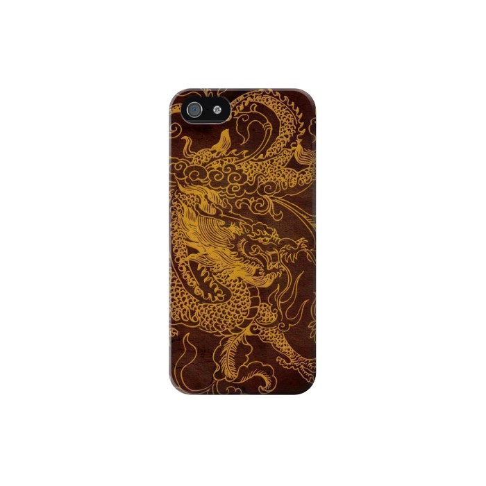 Printed Chinese Dragon Iphone 5C Case