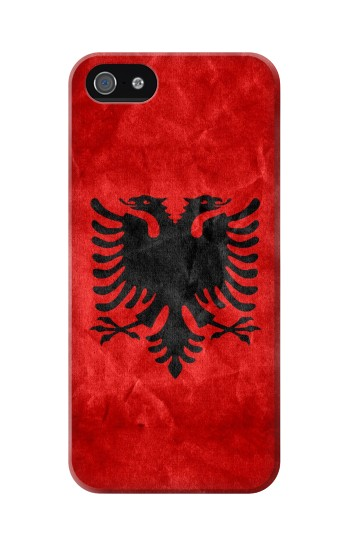 Printed Albania Red Flag Iphone 5C Case