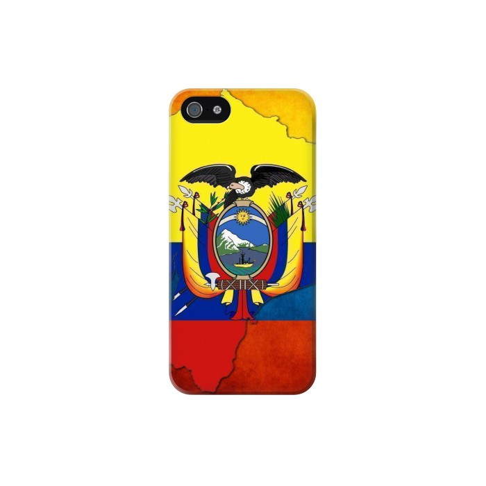 Printed Ecuador Flag Iphone 5C Case