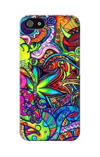 Printed Colorful Art Pattern Iphone 5C Case