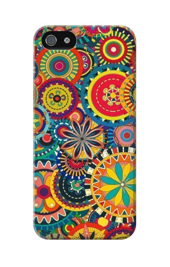 Printed Colorful Pattern Iphone 5C Case