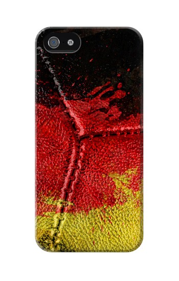 Printed Germany Flag Vintage Football 2018 Iphone 5C Case